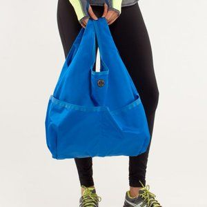 LULULEMON | Post Savasana Tote Blue Packable Bag